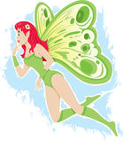 Beautiful Fairy. Filled with wonder and bewilderment Royalty Free Stock Photography