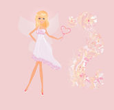 Beautiful fairy Stock Image