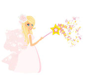 Beautiful fairy  graphic Stock Photo