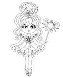 Beautiful fairy  graphic Royalty Free Stock Image