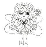 Beautiful fairy graphic Royalty Free Stock Photos