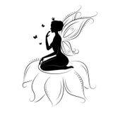 Beautiful fairy. Stock Photos