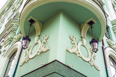 beautiful fairy-tale cottage architecture Royalty Free Stock Photos