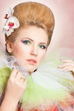 Beautiful fairy-tale woman Royalty Free Stock Photo