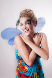 Beautiful Fairy woman Royalty Free Stock Image