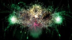 2016_beautiful fajerwerków wybuch zdjęcie wideo