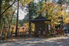 Beautiful fall color of Hiyoshi Taisha. At Otsu, Shiga, Japan Royalty Free Stock Image