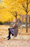 Beautiful fall day in Paris Stock Photo