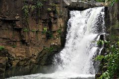 Zarwani waterfall stock photo