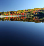 Beautiful fall lake Royalty Free Stock Photography