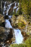 Beautiful Waterfalls, Canadian, Rockies, British Columbia, Canada, Canada royalty free stock photos