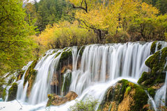 Beautiful falls at colorful autumn Royalty Free Stock Photo