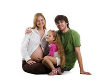 Beautiful family Royalty Free Stock Image