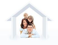 Beautiful family Stock Image