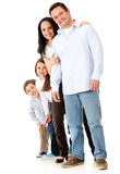 Beautiful family Royalty Free Stock Photography