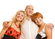 Beautiful family Stock Photography