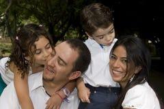 Beautiful Family enjoying Royalty Free Stock Image