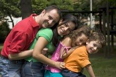 Beautiful family enjoying together Royalty Free Stock Photos