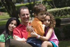 Beautiful family enjoying together Stock Image