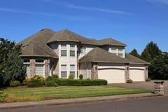 Beautiful Family Home royalty free stock photos