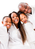 Beautiful family hugging Royalty Free Stock Images