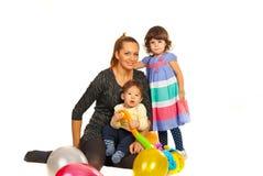 Beautiful family Royalty Free Stock Photo