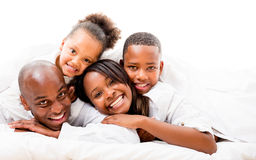 Beautiful family portrait Stock Photo