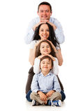 Beautiful family smiling Royalty Free Stock Images