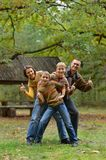 Beautiful family together Royalty Free Stock Photos