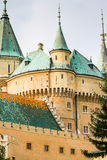 The beautiful and famous Castle Bojnice in Slovakia Royalty Free Stock Image