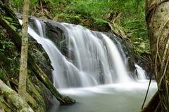 Beautiful famous waterfalls at Jedkot Stock Images