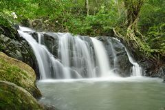 Beautiful famous waterfalls Stock Photos