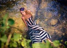 Beautiful fantastic girl Royalty Free Stock Photography