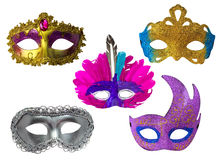 Beautiful Fantasy Mask Set Royalty Free Stock Photo
