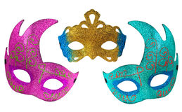 Beautiful Fantasy Mask Set Stock Images