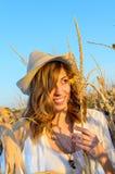 Beautiful farm girl Stock Photography
