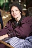 Beautiful farmgirl Royalty Free Stock Images
