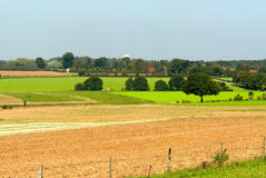Beautiful farmland landscape Stock Photos