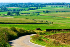Beautiful farmland landscape stock images