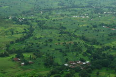 Beautiful farmland at village Satara-I Stock Photo