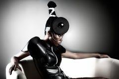 Beautiful fashion african woman royalty free stock photos
