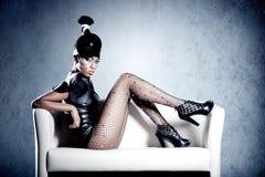 Beautiful fashion african woman Stock Image