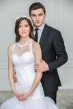 Beautiful fashion bridal couple Royalty Free Stock Image
