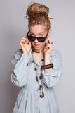 Beautiful fashion girl Stock Photo