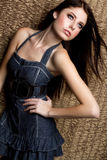 Beautiful Fashion Girl Royalty Free Stock Images