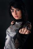 Beautiful fashion girl Royalty Free Stock Images