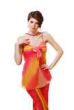 Beautiful fashion Girl Royalty Free Stock Photos