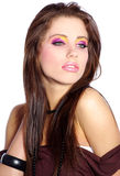 Beautiful fashion girl Stock Photos