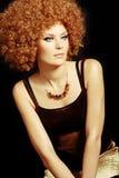Beautiful fashion girl Stock Images