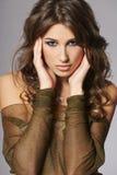 Beautiful fashion girl Royalty Free Stock Photo